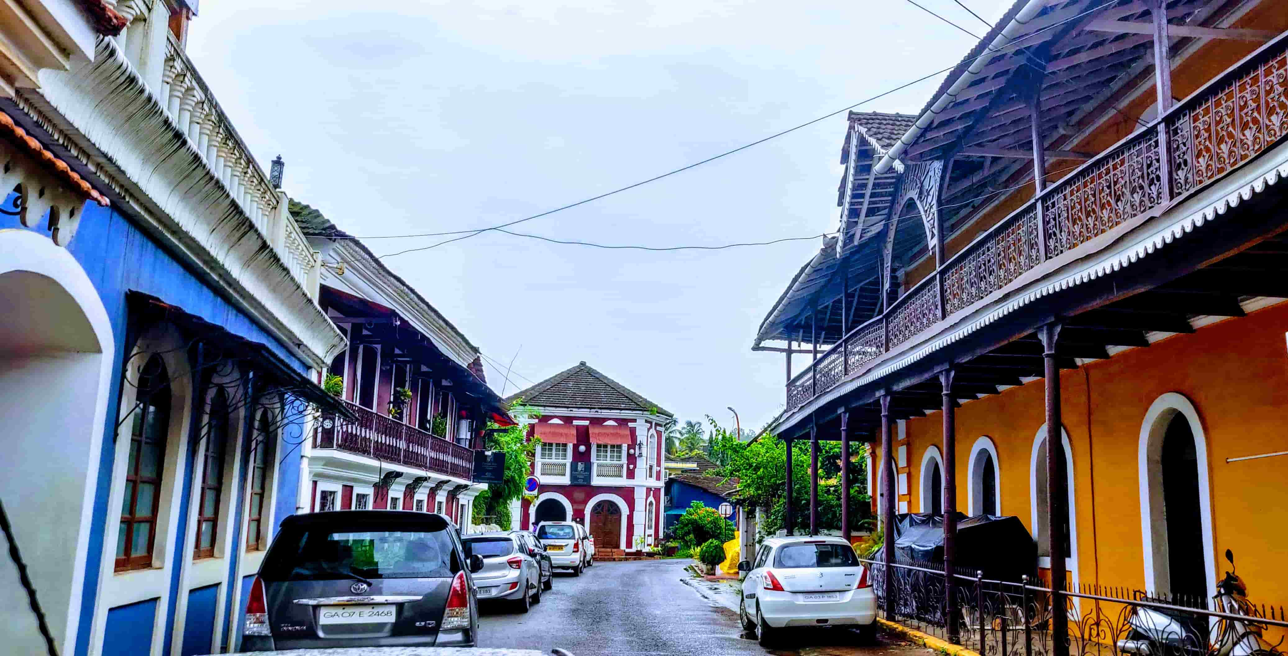 Things To Do In Goa in 2 Days Trip-Fontainhas in Panjim