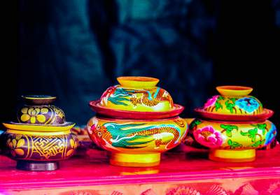 Handicrafts artifacts of Ladakh